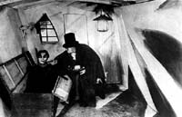 "Szene aus ""Das Kabinett des Dr. Caligari"""