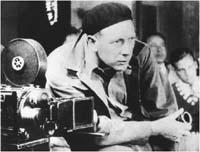 F.W. Murnau bei der Arbeit