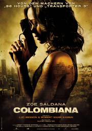 Colombiana Plakat
