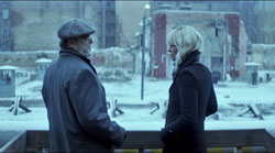 John Goodman und Charlize Theron