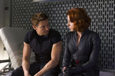 The Avengers - Hawkeye und Black Widow