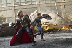 The Avengers - Thor & Captain America