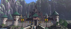 Das Schloss von Arendelle