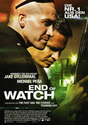 End of Watch - Poster