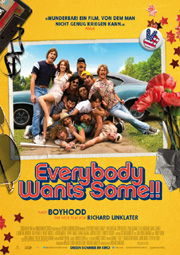 Everybody wants some - Poster