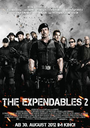 The Expendables 2 - Poster