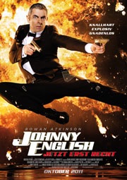 Johnny English 2 - Poster