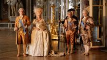 Ludwig XVI. und Marie-Antoinette halten Hof
