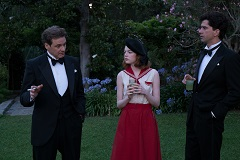 Colin Firth, Emma Stone und Hamish Linklater