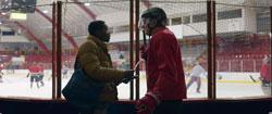 Im Eishockeystadion