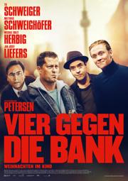 Vier gegen die Bank - Poster