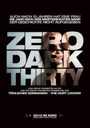 Zero Dark Thirty - Poster