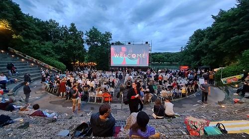 """""""Open Air Kino beim Filmfest München"""""""