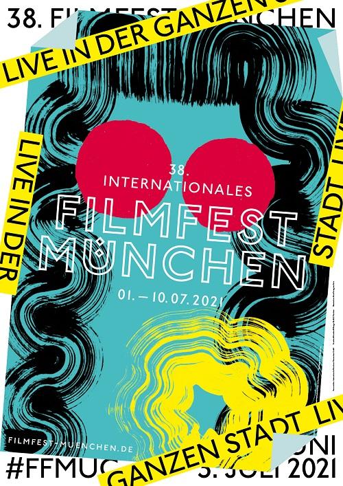 """Filmfest München 2021 - Plakat"""